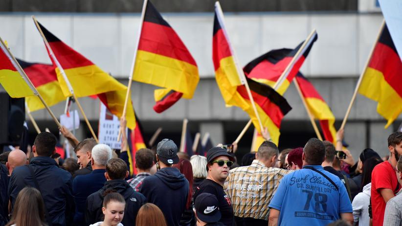 Schlecky Silberstein: Teilnehmer der rechten Proteste in Chemnitz