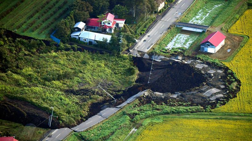 Erdbeben: Tote und Verletzte bei Beben in Japan