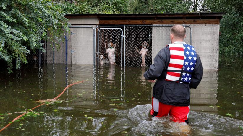 Florence: Starke Fluten im Südosten der USA