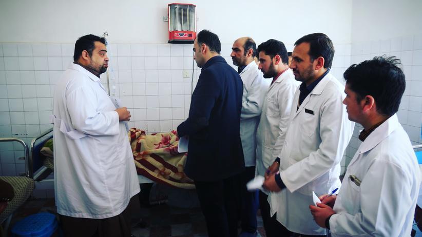 Afghanistan: Blick in die psychiatrische Abteilung des Krankenhauses von Herat