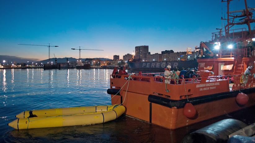 Migration: Hunderte Flüchtlinge vor Spaniens Küste gerettet