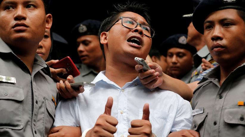 Myanmar: Reuters-Journalisten zu sieben Jahren Haft verurteilt
