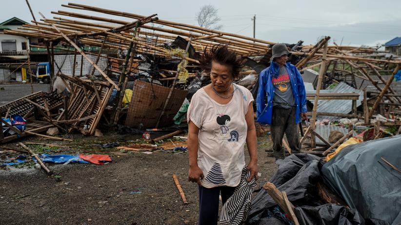 Mangkhut: Die zerstörerische Kraft des Taifuns Mangkhut