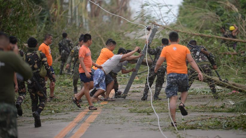 Philippinen: Tote nach Taifun Mangkhut