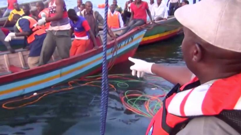 Victoriasee: Mindestens 100 Tote bei Fährunglück in Tansania