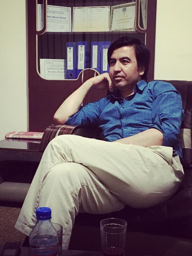 Afghanistan: Der ehemalige Schafhirte und heutige Menschenrechtler: Wadood Pedram