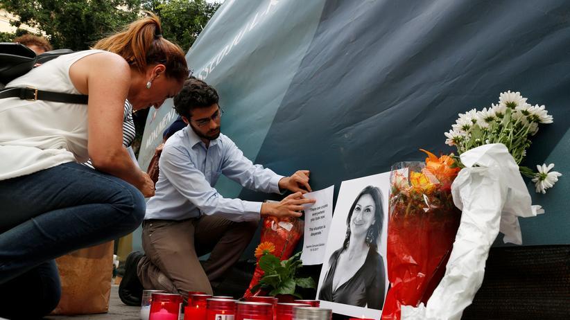 Daphne Caruana Galizia: Wer hat die Mörder geschickt?