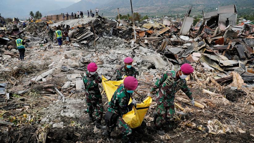 Indonesien: Mehr als 1.400 Tote auf Sulawesi