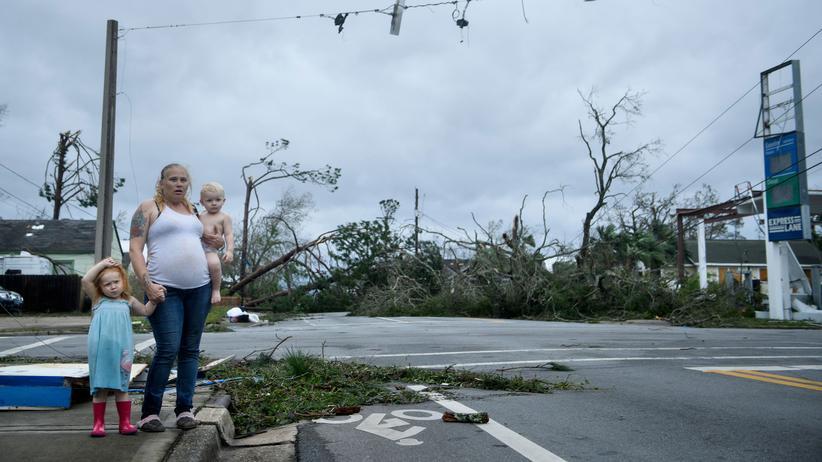 Hurrikan Michael: Zerstörung nach dem Sturm