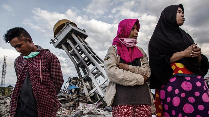 Indonesien: Verbleib von 5.000 Menschen nach Erdbeben unbekannt