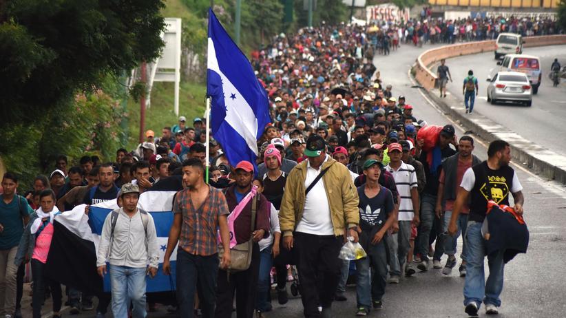 Migration: Trump droht Mittelamerika mit Stopp von Finanzhilfen