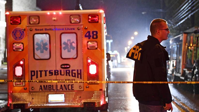 """Attentat in Pittsburgh: Angreifer wollte den """"Tod aller Juden"""""""