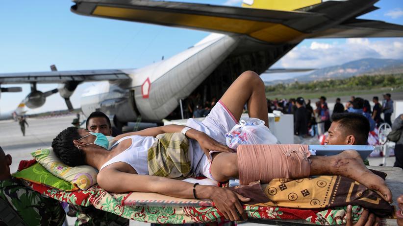 Tsunami in Indonesien: Palu liegt in Trümmern