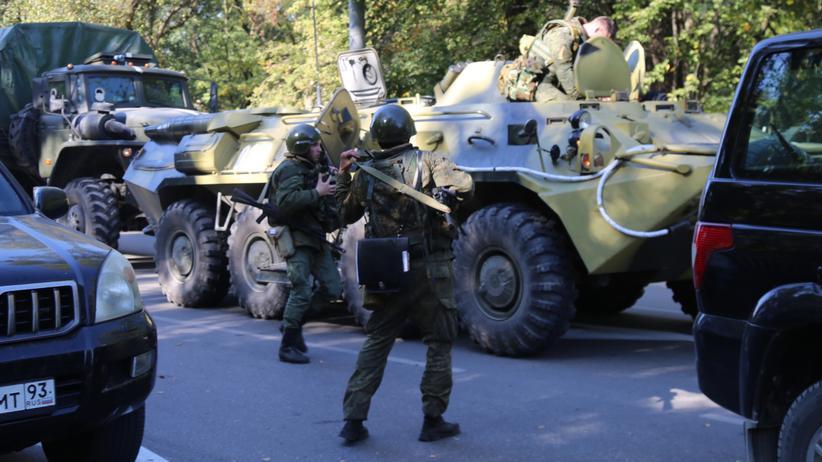 Ukraine: Mindestens 17 Tote bei Explosion auf der Krim
