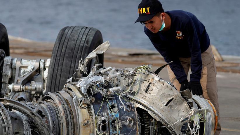 Indonesien: Abgestürzte Lion-Air-Maschine war laut Ermittlern nicht flugtüchtig