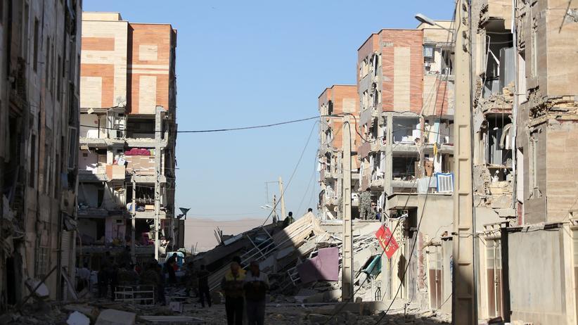 Iran: Hunderte Verletzte nach Erdbeben im Iran
