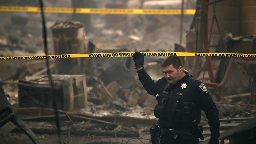 Kalifornien: Mehr als 600 Vermisste nach Waldbrand in USA