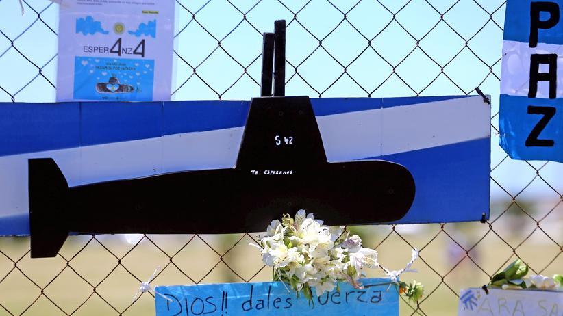 """Argentinien: Verschollenes U-Boot """"San Juan"""" im Atlantik gefunden"""