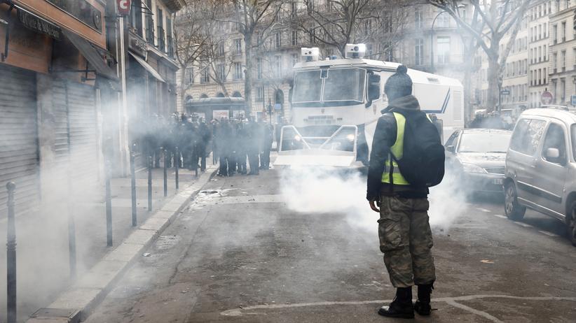 Gelbwesten: Deutlich weniger Protestteilnehmer in Frankreich