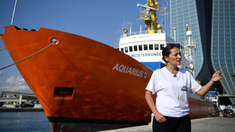 """Migration: Seenotretter beenden Einsatz der """"Aquarius"""" im Mittelmeer"""