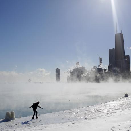 USA: Kälter als am Südpol