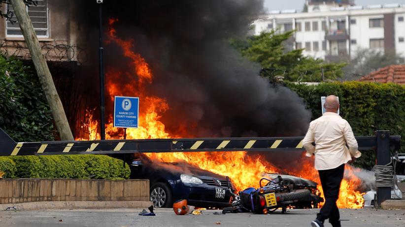 Kenia: Mindestens 15 Tote bei Angriff auf Hotel in Nairobi