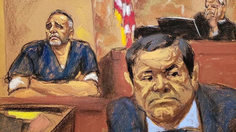Mexiko: El Chapo soll mexikanischen Ex-Präsidenten bestochen haben