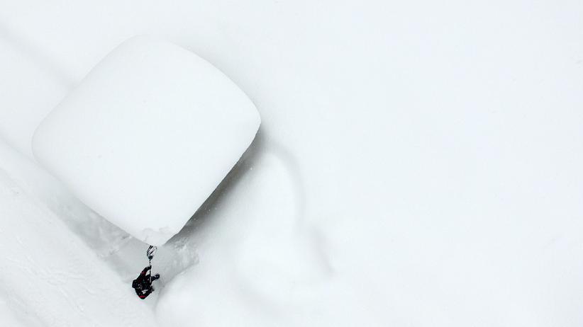 Alpen: Starke Schneefälle erhöhen Lawinengefahr
