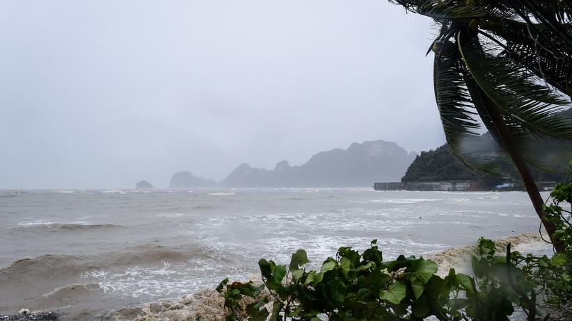 Pabuk: Thailands Behörden heben Sturmwarnung auf