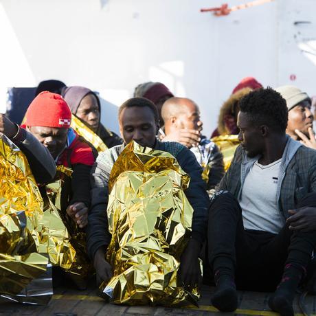 """Seenotrettung: """"Wir sprechen hier von Menschen, nicht von einer Fracht"""""""