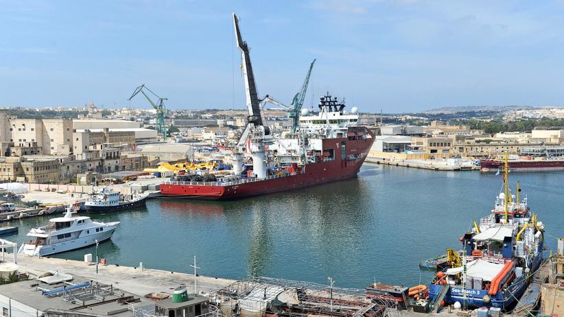 Mittelmeer: Rettungsschiffe dürfen in maltesische Gewässer einfahren