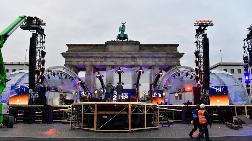 Silvester: Berlin verhängt Böllerverbot in drei Gebieten