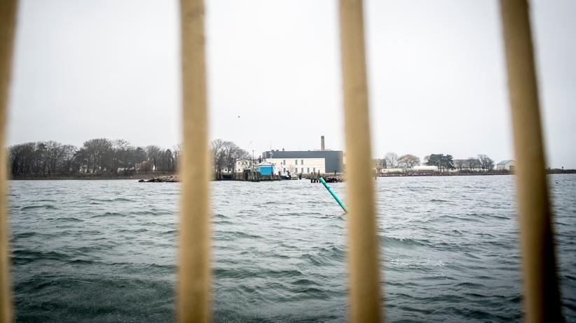 Migration in Dänemark: Blick auf die dänische Insel Lindholm