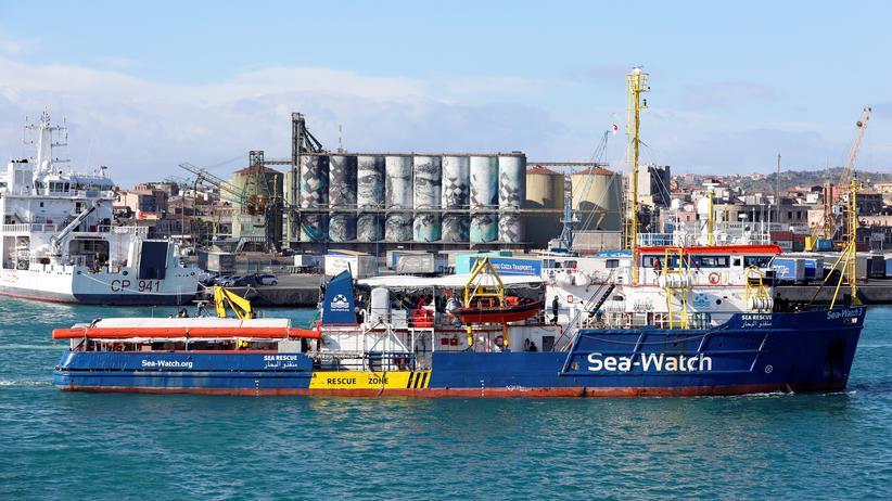 """Rettungsschiff: """"Sea-Watch 3"""" im Hafen von Catania festgesetzt"""