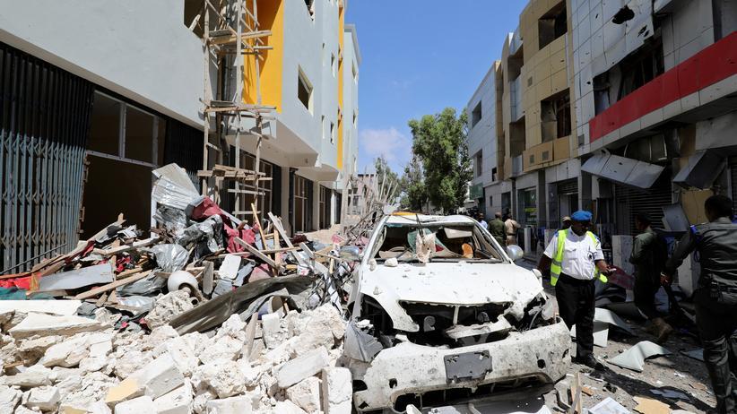 Somalia: Mehrere Tote bei Anschlag auf Einkaufszentrum in Mogadischu