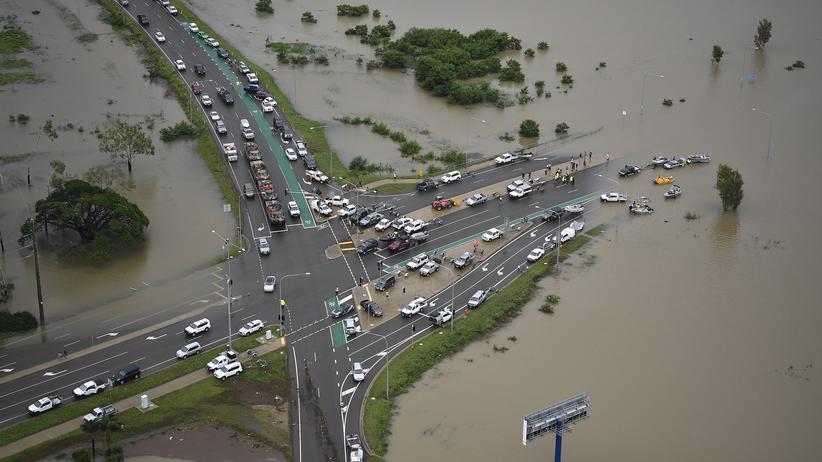 Queensland: Vom Wasser überrascht