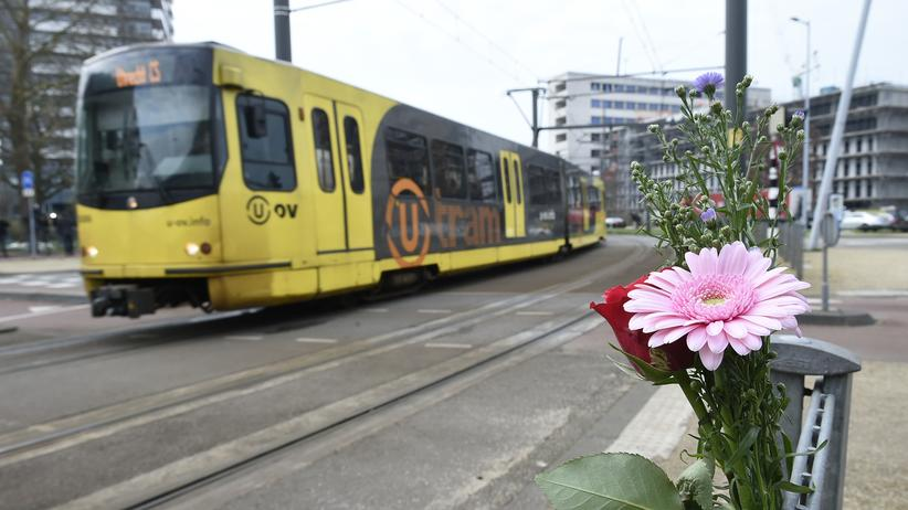 Utrecht: Blumen in Gedenken an die Opfer der tödlichen Schüsse in Utrecht