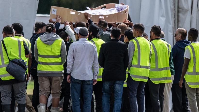 Neuseeland: Erste Opfer des Terroranschlags von Christchurch beigesetzt
