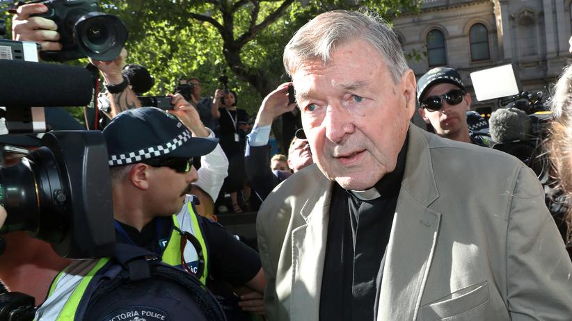 George Pell: Kardinal wegen Missbrauchs zu sechs Jahren Haft verurteilt