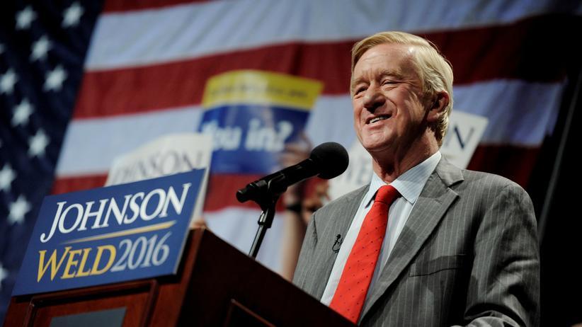 Bill Weld: Der republikanische Präsidentschaftskandidat Bill Weld (Archivbild)
