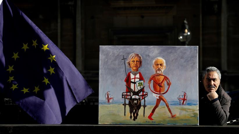 EU-Austritt: Theresa May trifft sich ohne Vorbedingungen mit Oppositionschef