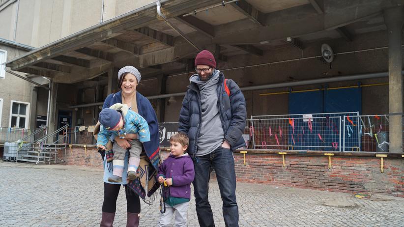Görlitz: Anne Wenkel und ihre Familie in Görlitz: Noch leben sie in Berlin. Wird Sachsen die neue Heimat der Künstler?