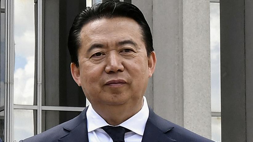 Meng Hongwei: China nimmt ehemaligen Interpol-Chef auch ganz offiziell fest