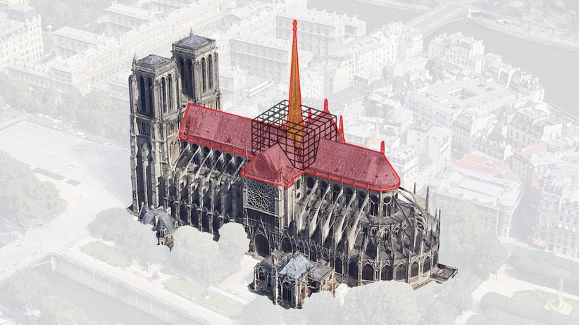 Brand in Notre-Dame: Wie konnten sich die Flammen so schnell ausbreiten?