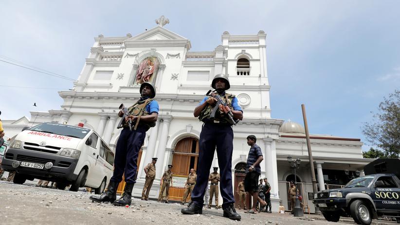 Sri Lanka: Mehr als 180 Tote nach Anschlägen auf Kirchen und Hotels
