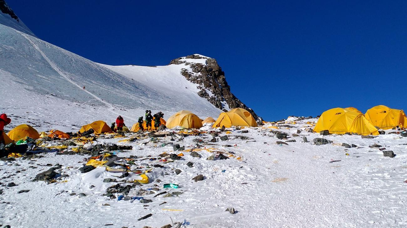 Himalaya Zahl Der Toten Bergsteiger Am Mount Everest
