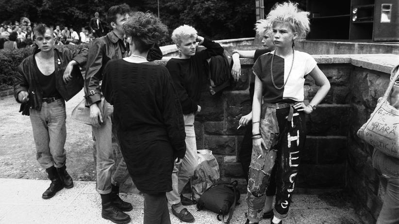 """Punk in der DDR: """"Das hat mich ziemlich angekotzt"""""""