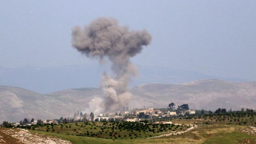 Syrien: Beobachter melden schwerste Angriffe auf Idlib seit sechs Monaten