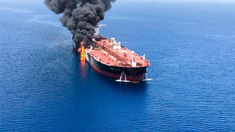 Angriff auf Öltanker im Golf von Oman