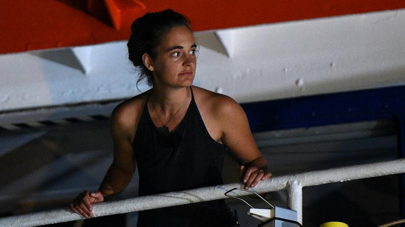 Carola Rackete: Anhörung von Sea-Watch-Kapitänin wird verschoben